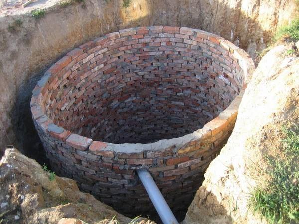 Выгребная яма на дачном участке