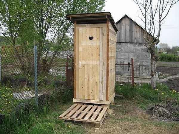 Расположение туалета с соблюдением нормативов дистанции