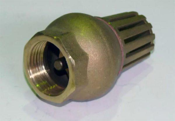 Приемный клапан с фильтром