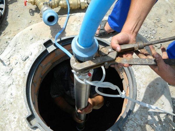 Прокладка водопроводной системы