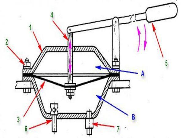 Устройство мембранного агрегата