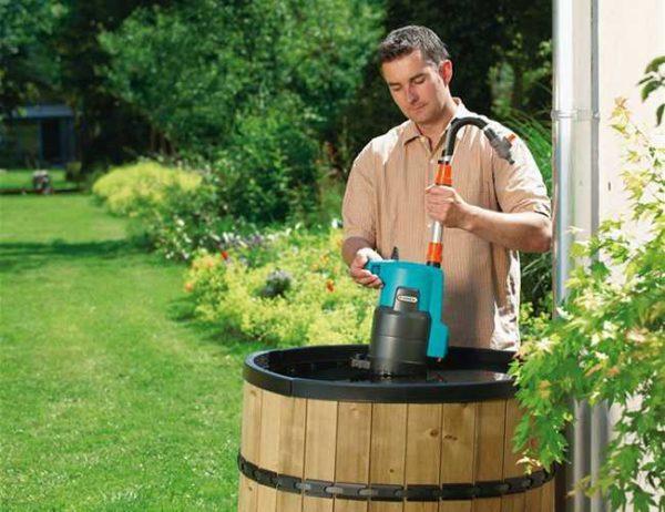 Бочковой насосный аппарат – самый удобный вид поливочного устройства