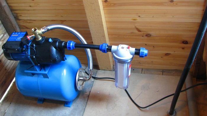 Насос для водоснабжения частного дома