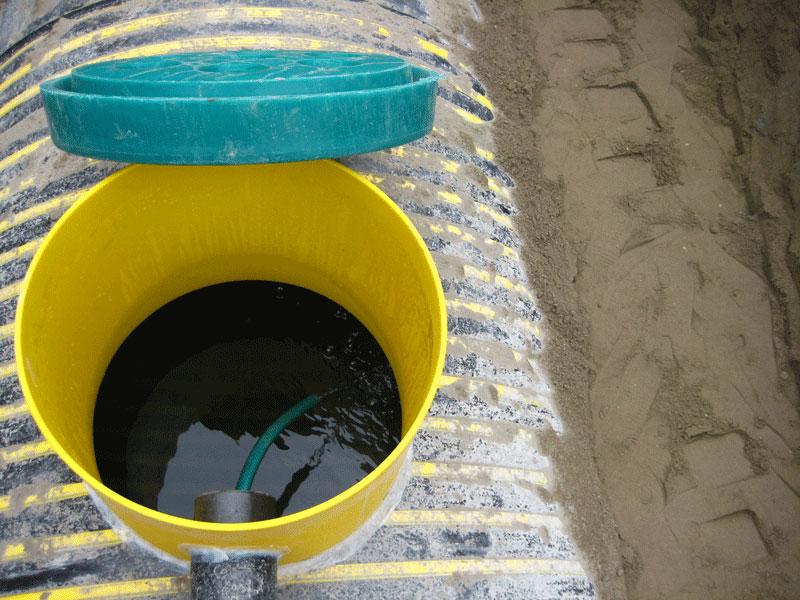 Правильная консервация системы очистки стоков