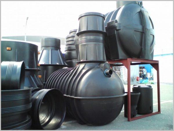 Пластиковая система автономной канализации