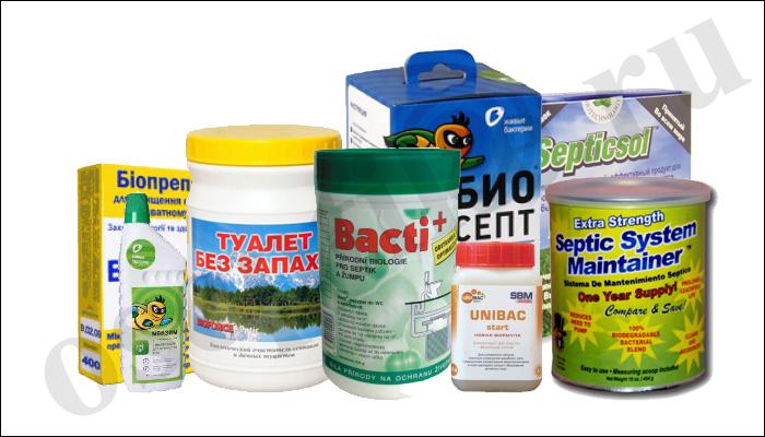 Препараты для растворения нечистот