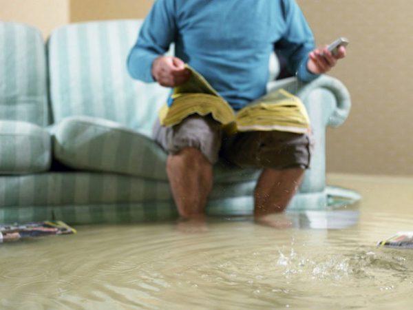 Последствия подтопления квартиры