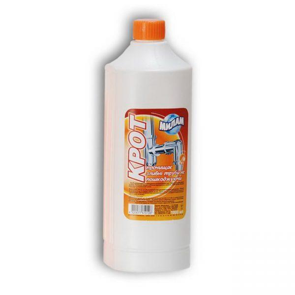 Специализированные химические средства для чистки канализационной системы