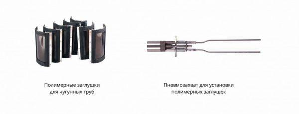 Заглушки системы Терминатор и их конструкция