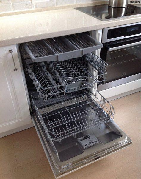 Пустая посудомойка для проверки