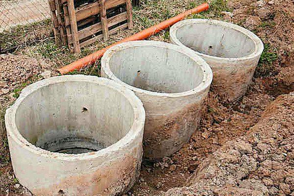 Бетонные кольца для канализационных колодцев