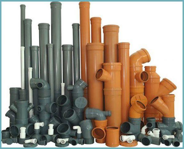 Канализационные трубы для внешней и внутренней систем
