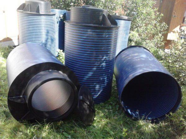 Накопительный бак для канализации на дачном участке