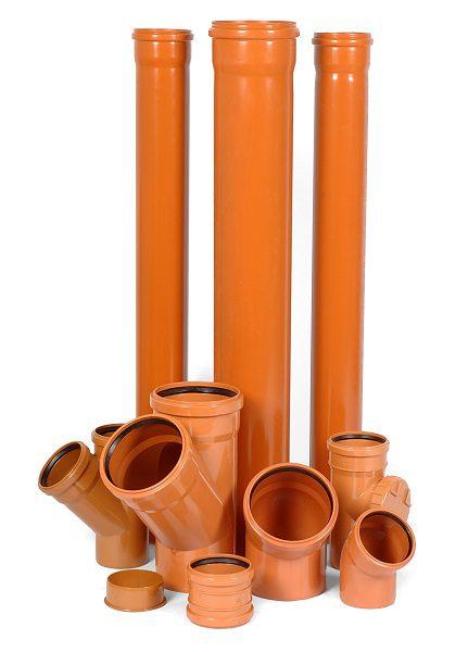 Пластиковые трубы для внешней канализации
