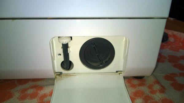 Ловушка для стиральной машинки