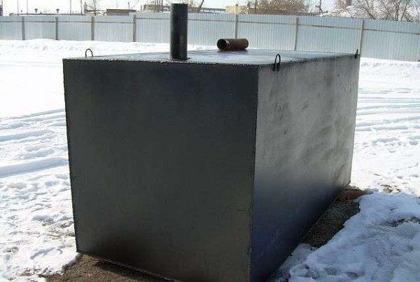 Герметическая емкость для канализации