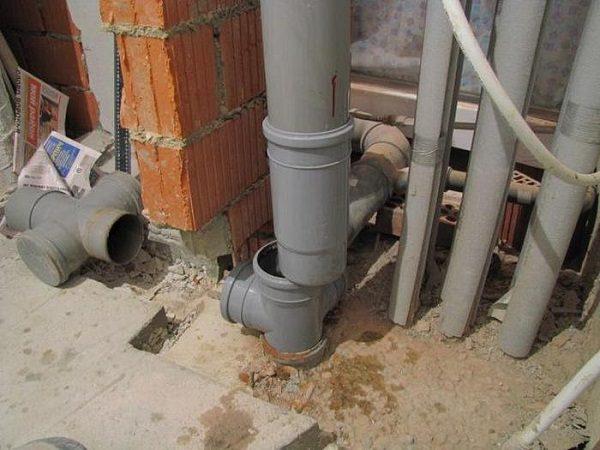 Стояк канализационной системы