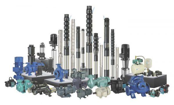 Разнообразие типов насосного оборудования